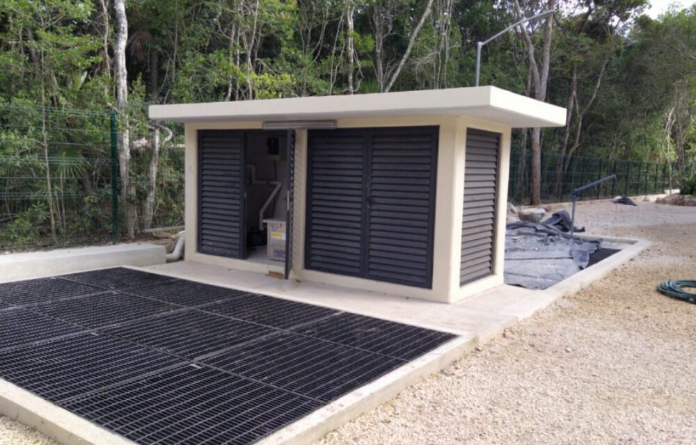 Blower sets for WWTP in Tulum (Mex)