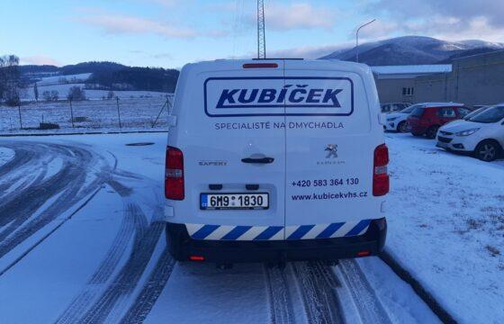 Nový pomocník pro kvalitní servisní služby firmy KUBÍČEK | Kubíček VHS