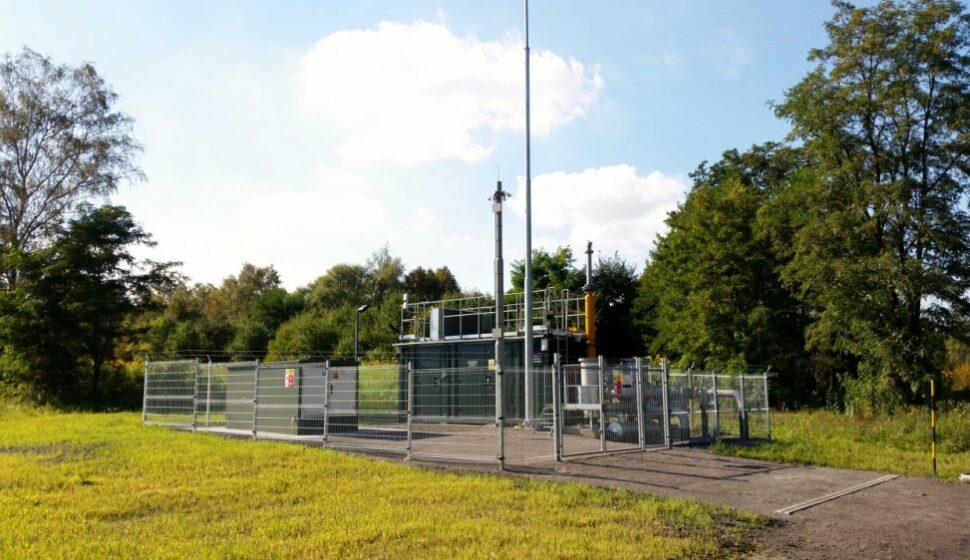 Пункт одкачивания природного газа Габриела ( Чехия)
