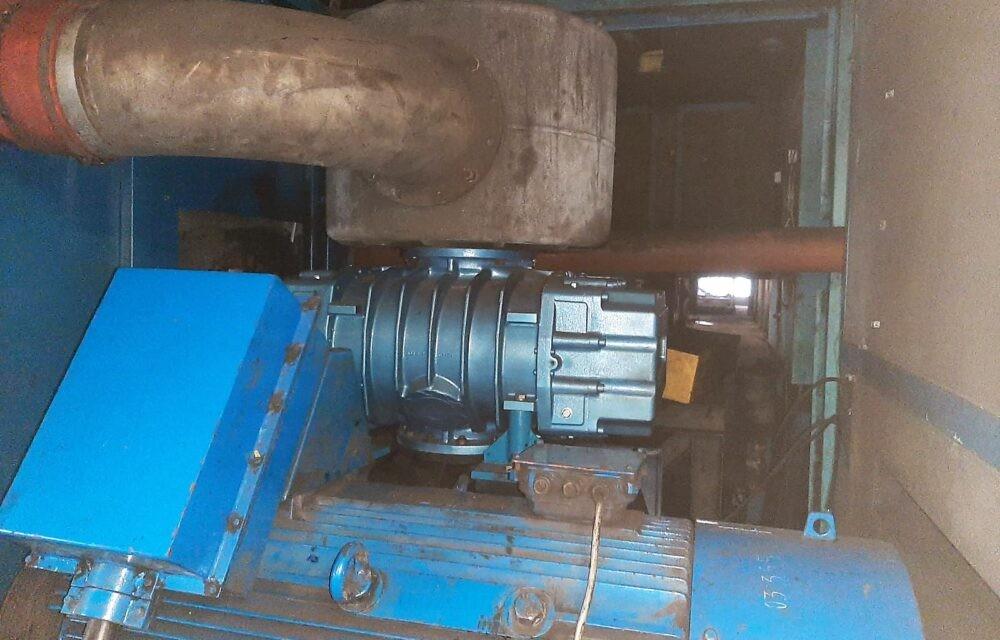 Bare shaft blower unit   Kubíček VHS