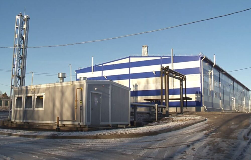 WWTP Vorsma, Russia, the first of the treatment plants action Pure Volga